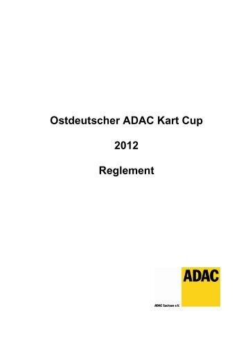 Ostdeutscher ADAC Kart Cup 2012 Reglement - Motorsport ...