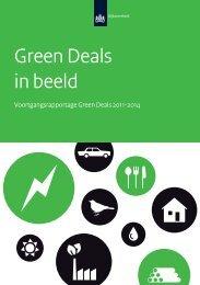 Green Deals in beeld Voortgangsrapportage Green Deals 2011 2014