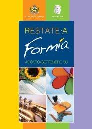 Restate a Formia – Agosto 2008 - LatinaEventi.it