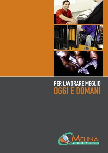 Noleggio carrelli elevatori Melina carrelli srl - CCE Melina S.r.l.