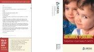 Antibiotic Resistance Brochure - Messa