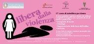 17° corso di autodifesa per donne - Comune di Lugo