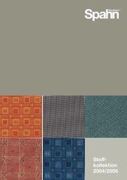 Stoff- kollektion 2004/2005 - Reininger Collection