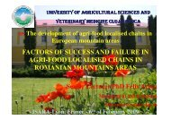 National Agency of Mountain Area - Produit de Montagne - Isara