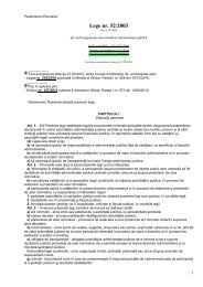 Legea 52/2003 - AGVPS