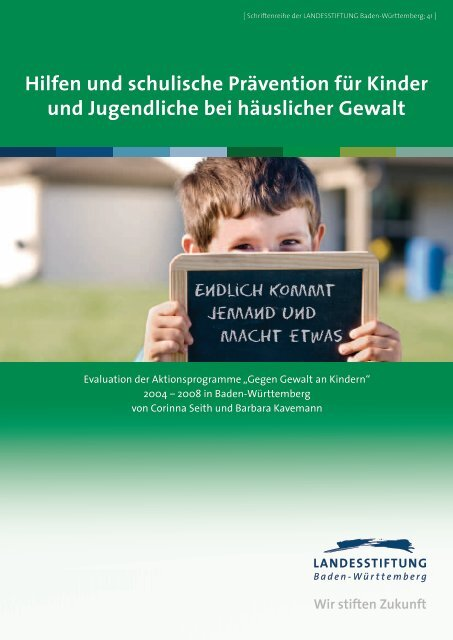 Hilfen und schulische Prävention für Kinder und Jugendliche bei ...