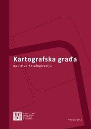 Kartografska građa - NSK - Nacionalna i sveučilišna knjižnica u ...
