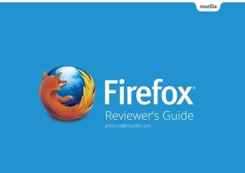 Firefox Desktop Reviewer's Guide - The Mozilla Blog