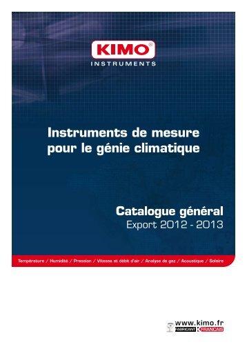 Catalogue général - Kimo Canada