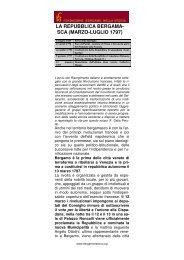Scheda di approfondimento - Fondazione Bergamo nella Storia