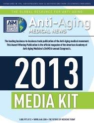 MEDICAL NEWS - American Academy of Anti-Aging Medicine