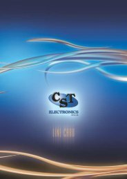 Click to download - CST Electronics