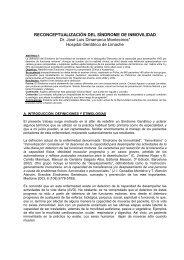 RECONCEPTUALIZACIÓN DEL SÍNDROME DE INMOVILIDAD Dr ...