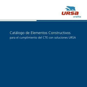 Catálogo de Elementos Constructivos - Ursa