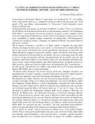 LA CITTA' DI ALBERTO DA GIUSSANO HA OSPITATO LA 1 ...