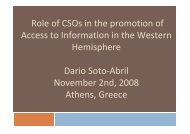 access to public information and media corporate governance soto ...