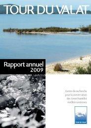 Rapport annuel 2009 - Tour du Valat
