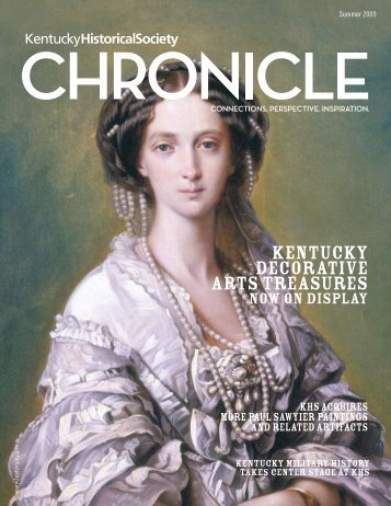 kentucky decorative arts treasures - Kentucky Historical Society
