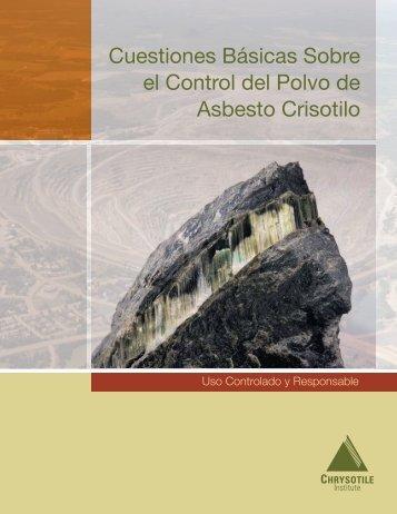 Cuestiones Básicas Sobre el Control del Polvo de ... - Chrysotile