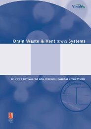 Drain Waste & Vent (DWV) Systems