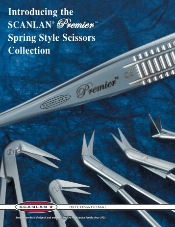 Introducing the Spring Style Scissors Collection - Scanlan International