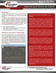 Solución para Centro de Control - Survalent Technology