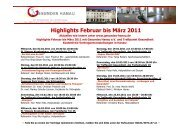 Newsletter Feb-März11 [Kompatibilitätsmodus] - Treffpunkt Gesundheit