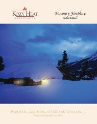Masonry Fireplace - Ashwood Hearth & Home Energy & Fireplace