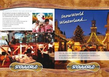 SnowWorld Winterland....