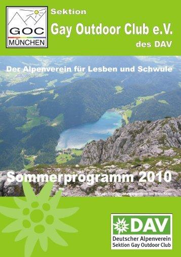 Sommerprogramm 2010 - NAPEX