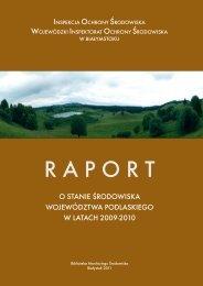 Raport o stanie środowiska w latach 2009-2010 - Wojewódzki ...