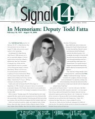 In Memoriam: Deputy Todd Fatta - Broward Sheriff's Office