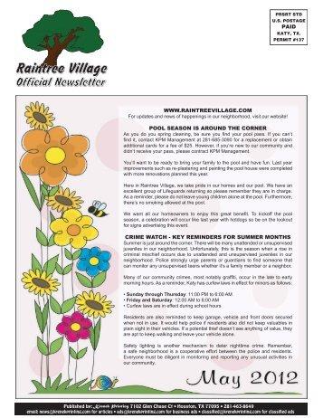 Raintree Village - Krenek Printing