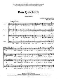 Don Quichotte - Schmidmusic.de