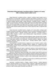 Obrazloženje Odluke Nacionalne i sveučilišne knjižnice u ... - NSK