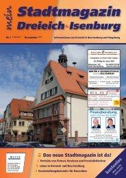 Stadtmagazin - mein Dreieich Isenburg