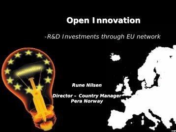 Open Innovation - Plastforum