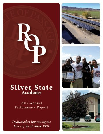 2012 Annual Performance Report - Silver State Academy
