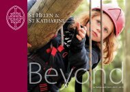 Activities and Clubs 2012 / 2013 - St Helen & St Katharine
