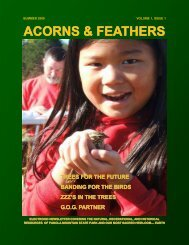 ACORNS & FEATHERS - Georgia State Parks and Historic Sites