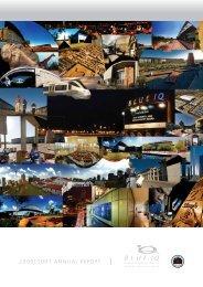 Blue IQ Annual Report 2006-2007 - Gauteng Online