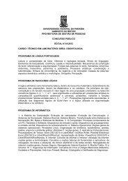 Técnico de Laboratório/ Área: Odontologia - Universidade Federal ...