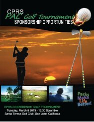 PAC Golf Tournament - CPRS Conference