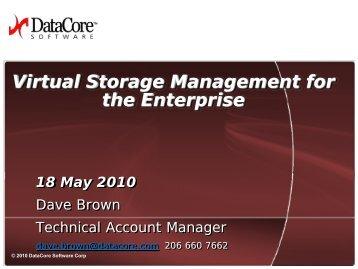 Virtual Storage Management - IPMA