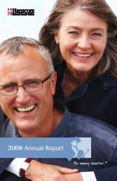 2008 Annual Report - Hanscom Federal Credit Union