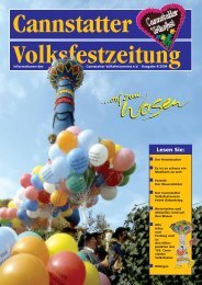 Ausgabe 2004 - Cannstatter Volksfest