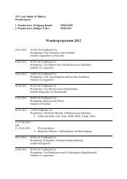 Wanderprogramm 2012 neu