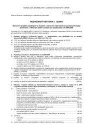 sazebnk poplatku - Mendelova zemědělská a lesnická univerzita v ...
