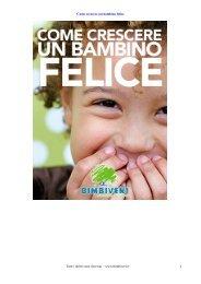 BIMBIVERI - Come crescere un bambino felice