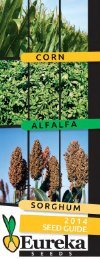 seed guide - Eureka Seeds